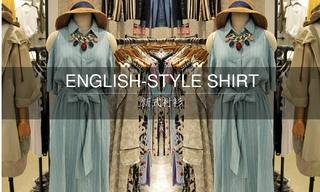 2016春夏新式襯衫(韓國東大門)零售分析