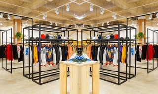 Sneakersnstuff在紐約開設第一家美國店&Bluegene Bop復古潮流