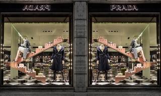 Prada圣誕櫥窗 - 打造現代都市摩登童話