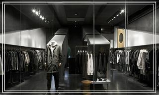 """【店铺】他用40平米打造了一家服装店,却没留试衣间&这家男装店有点""""黑"""",还有点酷"""