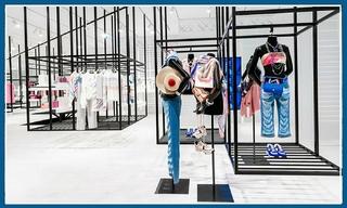 【快闪店】CHANEL在台湾打造全球首间透明菱格纹橱窗的限时概念店&Dior男装台北开快闪店 连KAWS本人都来逛
