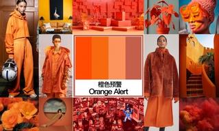 2020初秋色彩:橙色預警