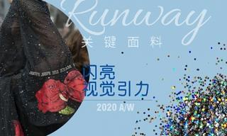 2020秋冬面料:闪亮视觉光泽