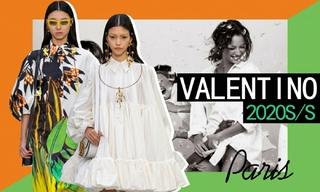 Valentino:野兽派的空灵梦境(2020春夏)