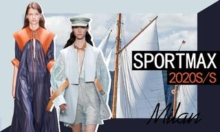 Sportmax:日晒海滨之旅(2020春夏)