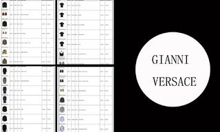 Gianni Versace - 2020/2021秋冬订货会(12.2)