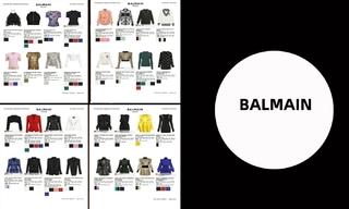 BALMAIN-2020/21秋冬訂貨會