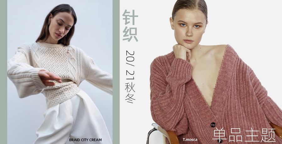 2020/21秋冬針織單品主題:實穿主義