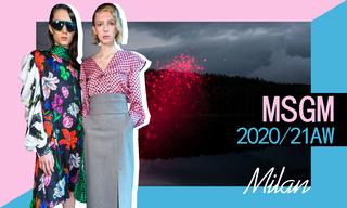 MSGM:詭譎又浪漫的冒險(2020/21秋冬)