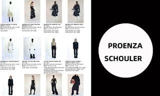 Proenza Schouler2021春夏訂貨會-2021春夏訂貨會