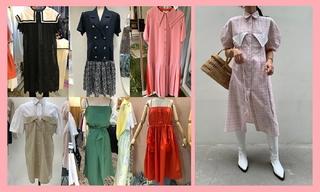 【韓國東大門】水手領裙|西裝裙|襯衫裙