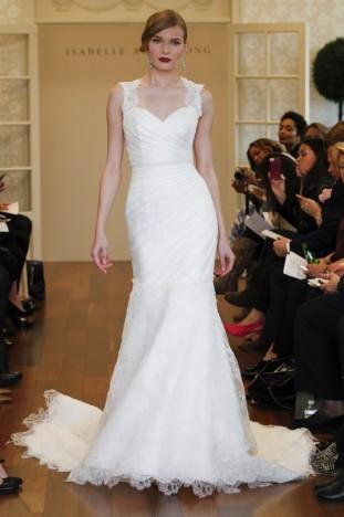 2015秋冬婚纱[Isabelle Armstrong]纽约时装发布会