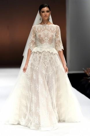 2015秋冬婚纱[ERSA atelier]纽约时装发布会